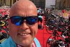 Triathlon - Mike Morley will be takin on the Cardiff triathlon