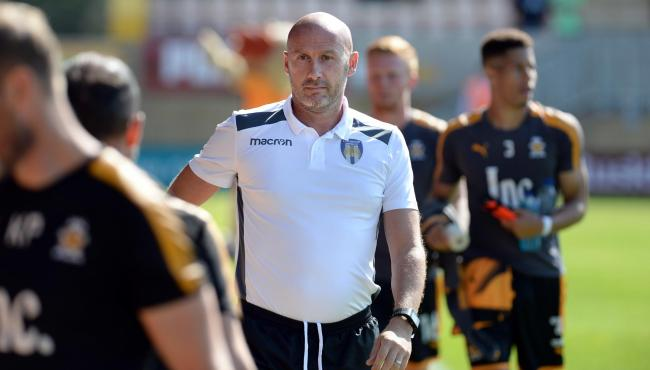 Home start - Colchester United head coach John McGreal has been handed his first league home start as a manager Picture: PAGEPIX