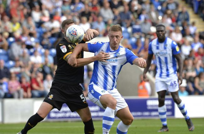 The ex-files - Luke Norris is set to face his former club when Colchester United take on Swindon Town in the Carabao Cup Picture: STEVE BRADING