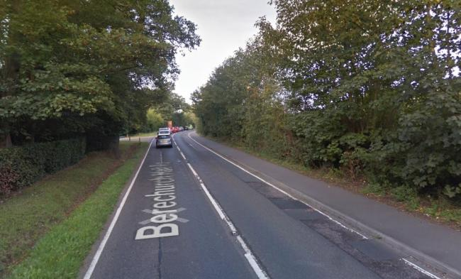 Crash - three people were taken to a hospital after a crash in Berechurch Hall Road