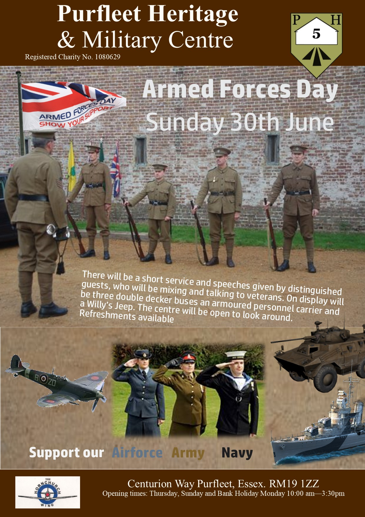 Armed Forces Day at Purfleet
