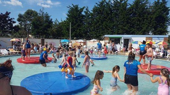 Water way to stay cool - Stay and Splash in Canvey. Inset: Fun times at Maldon