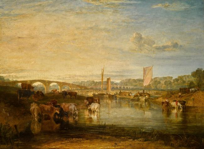Walton Bridges by Turner. Picture courtesy of Sotheby's