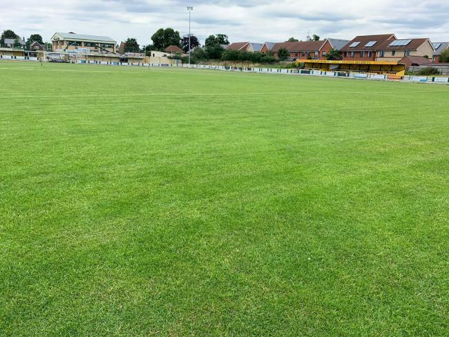 Stanway Rovers pitch