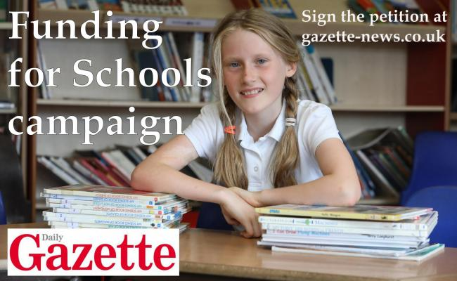Funding for Schools campaign logo