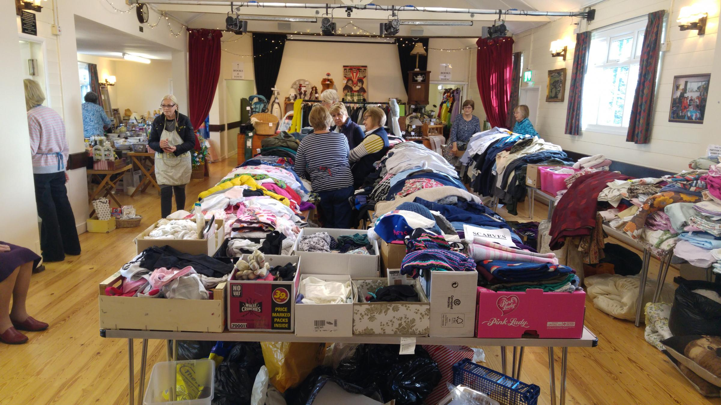 The Great Maplestead Jumble Sale