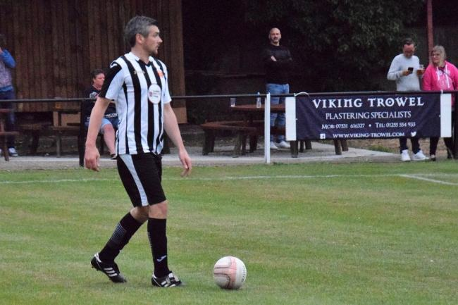 Unexpected return: Harwich defender Michael Murray Picture: Chris Smith