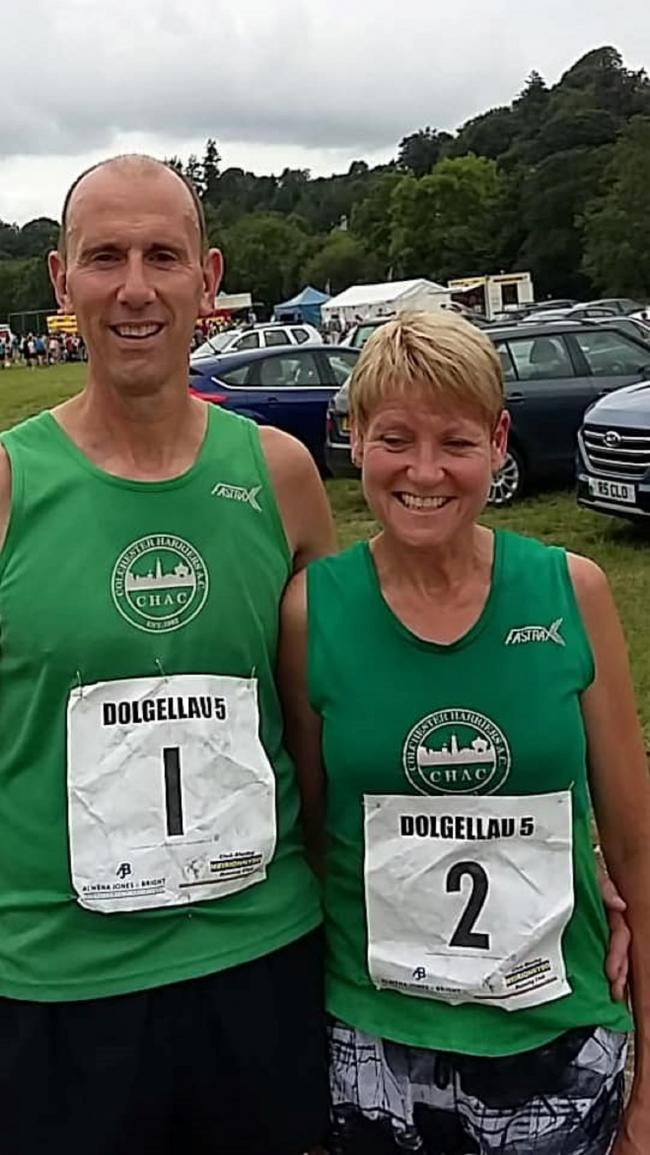 Hilly challenge - Harriers' Debbie Cattermole and Richard Flutter