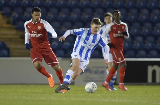 Great strike - Noah Chilvers put Colchester's under-23s ahead against Southend