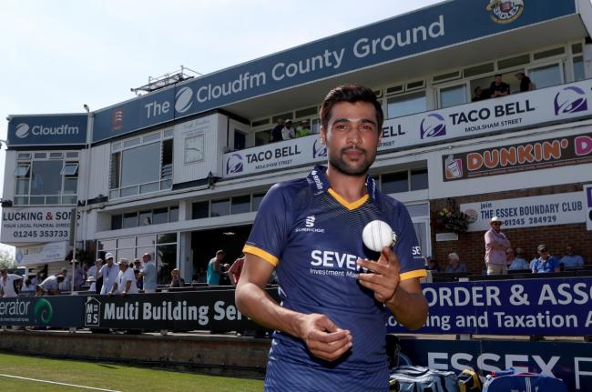 In contention - Mohammad Amir could feature for Essex Eagles against Hampshire