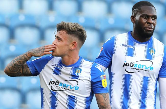 Familiar face - Sammie Szmodics paid a visit back to his old club Colchester United prior to their season opener against Port Vale Picture: STEVE BRADING