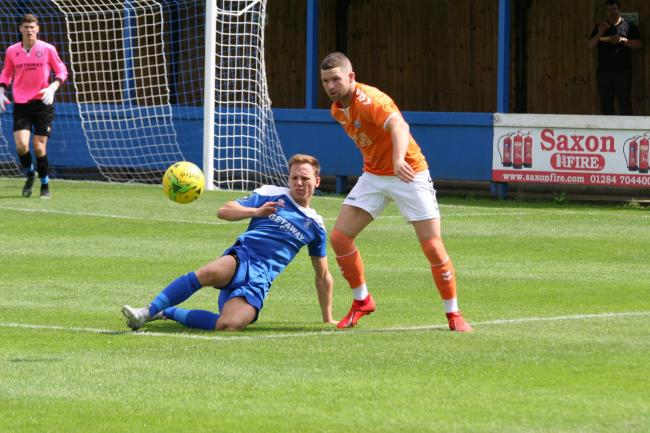 Hungry to prove himself - Tom Richardson is determined to shine for Braintree Picture: Jon Weaver