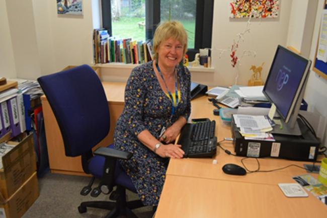 Instrumental - Gill Jackson, head of education at the St Aubyn centre