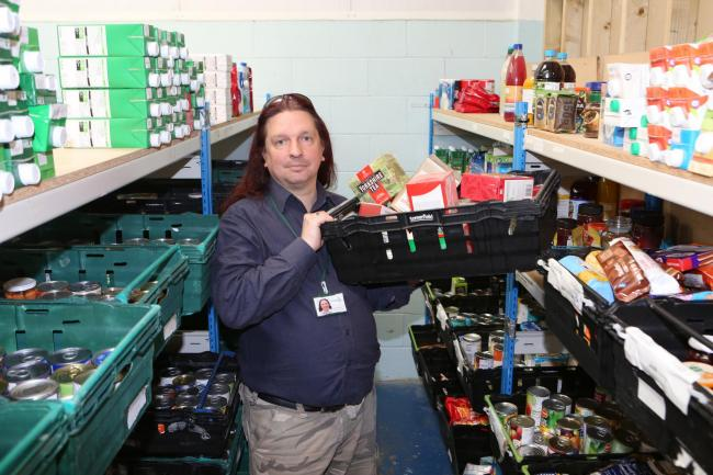 10 years and the foodbank is needed more than ever