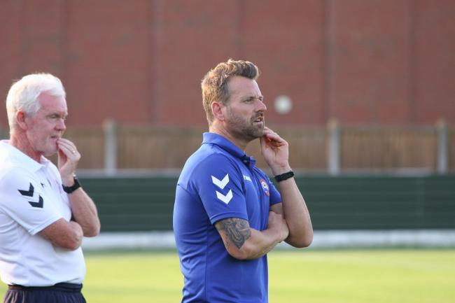 Braintree Town manager Glen Driver. Picture: Jon Weaver