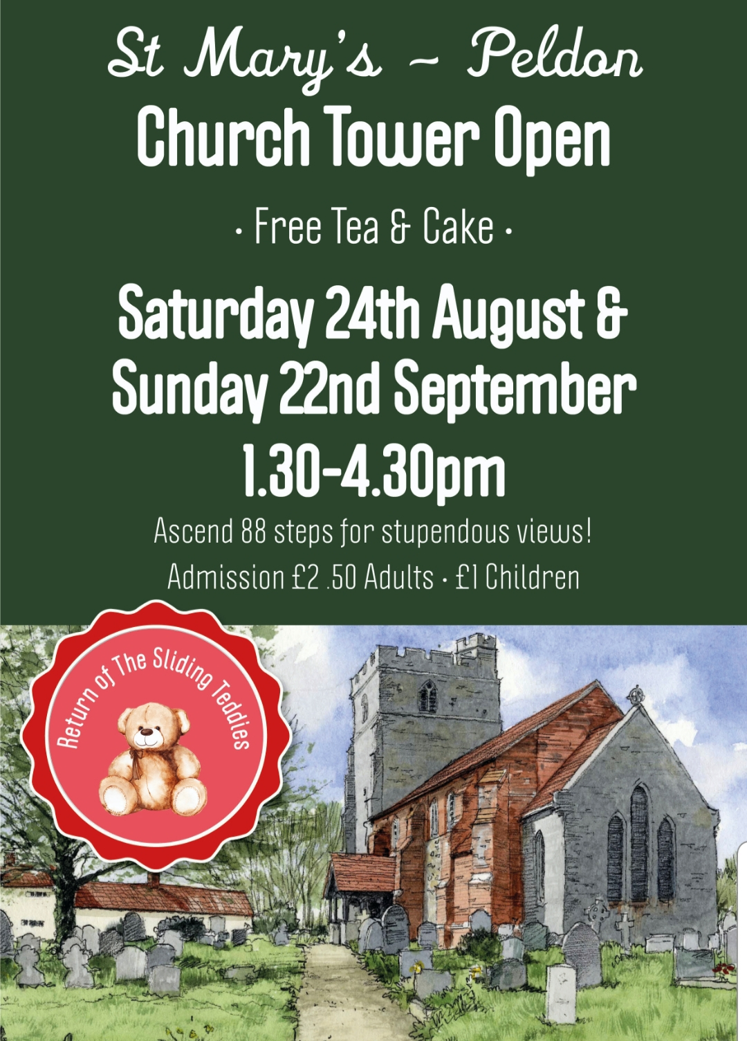 St Mary's Peldon Church Tower Open Day