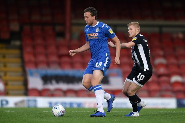 In form - Colchester United defender Tom Eastman has been in excellent form for his side Picture: RICHARD BLAXALL