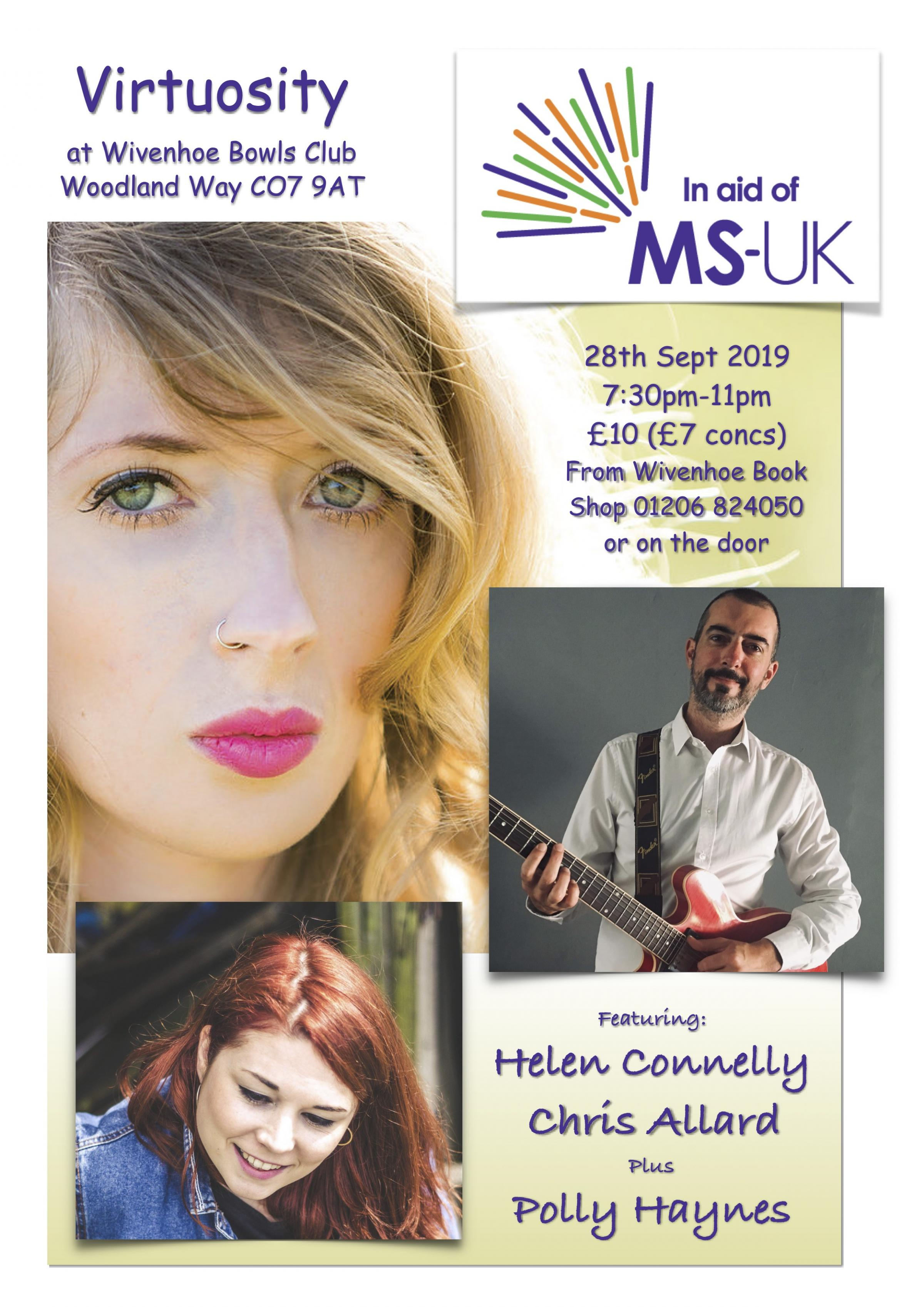 Virtuosity in aid of MS-UK