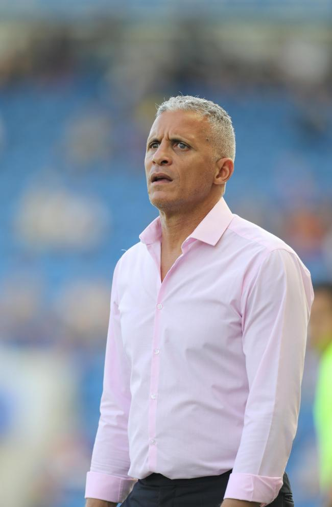 Disappointed - Northampton Town manager Keith Curle Picture: STEVE BRADING