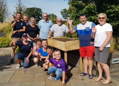 Essex Wildlife Trust spent the day at Help for Heroes' Colchester Recovery Centre, Chavasse House