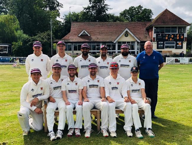 Memorable campaign - Colchester and East Essex Cricket Club have been crowned Shepherd Neame Essex League division one champions