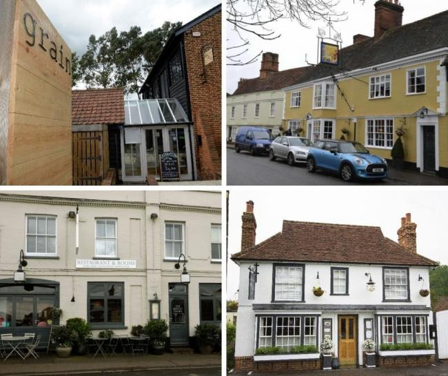 The Good Food Guide: Grain, the Sun Inn, Mistley Thorn and Flitch of Bacon