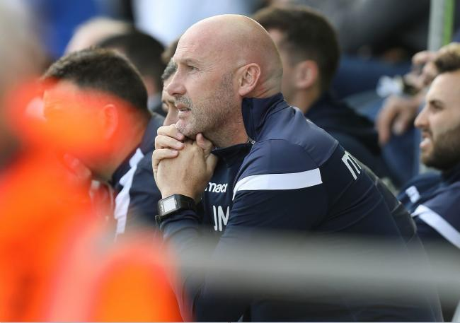 Net gain - Colchester United head coach John McGreal is looking for goals from his side Picture: STEVE BRADING