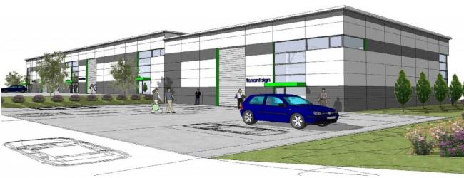 Plans unveiled for new business units which could create 40 jobs