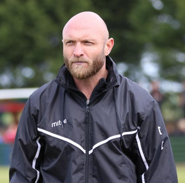 Maldon & Tiptree manager Wayne Brown saw his team progress in the FA Cup with a win against Wingate & Finchley. Picture: ALAN EDMONDS