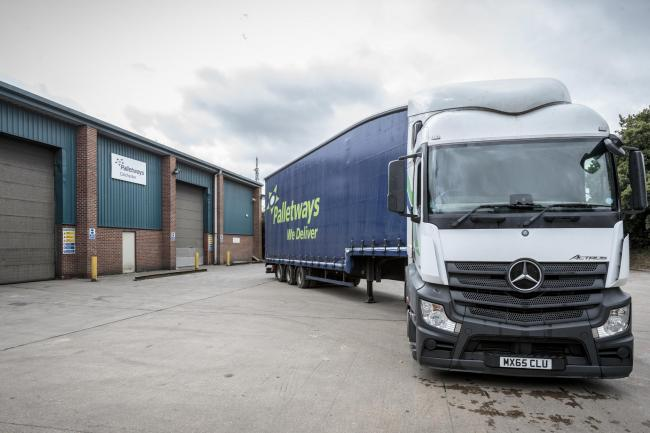 Freighter - Palletways UK has saved 64 jobs in Colchester and set up new depot Palletways Colchester