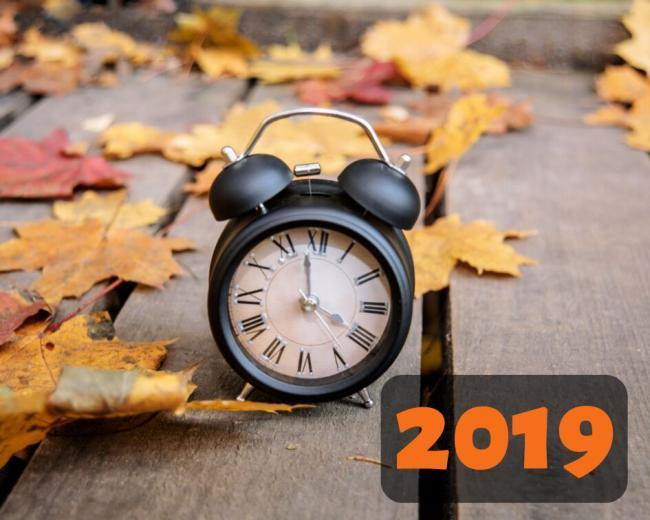 When do the clocks go back in 2019? And why we do it