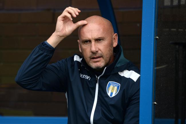 Options - Colchester United head coach John McGreal has a bigger squad, this season Picture: RICHARD BLAXALL
