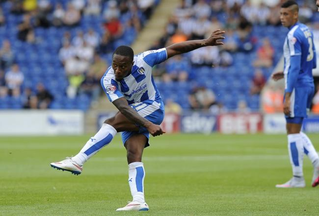Waiting game - Callum Harriott has been sidelined for Colchester United Picture: PAGEPIX