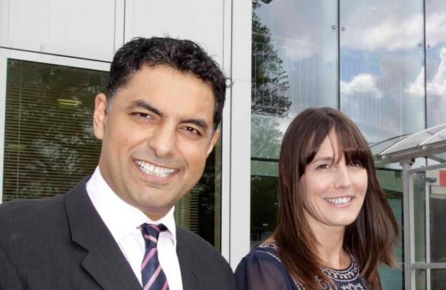 Nardeep Sharma and Catherine Hutley