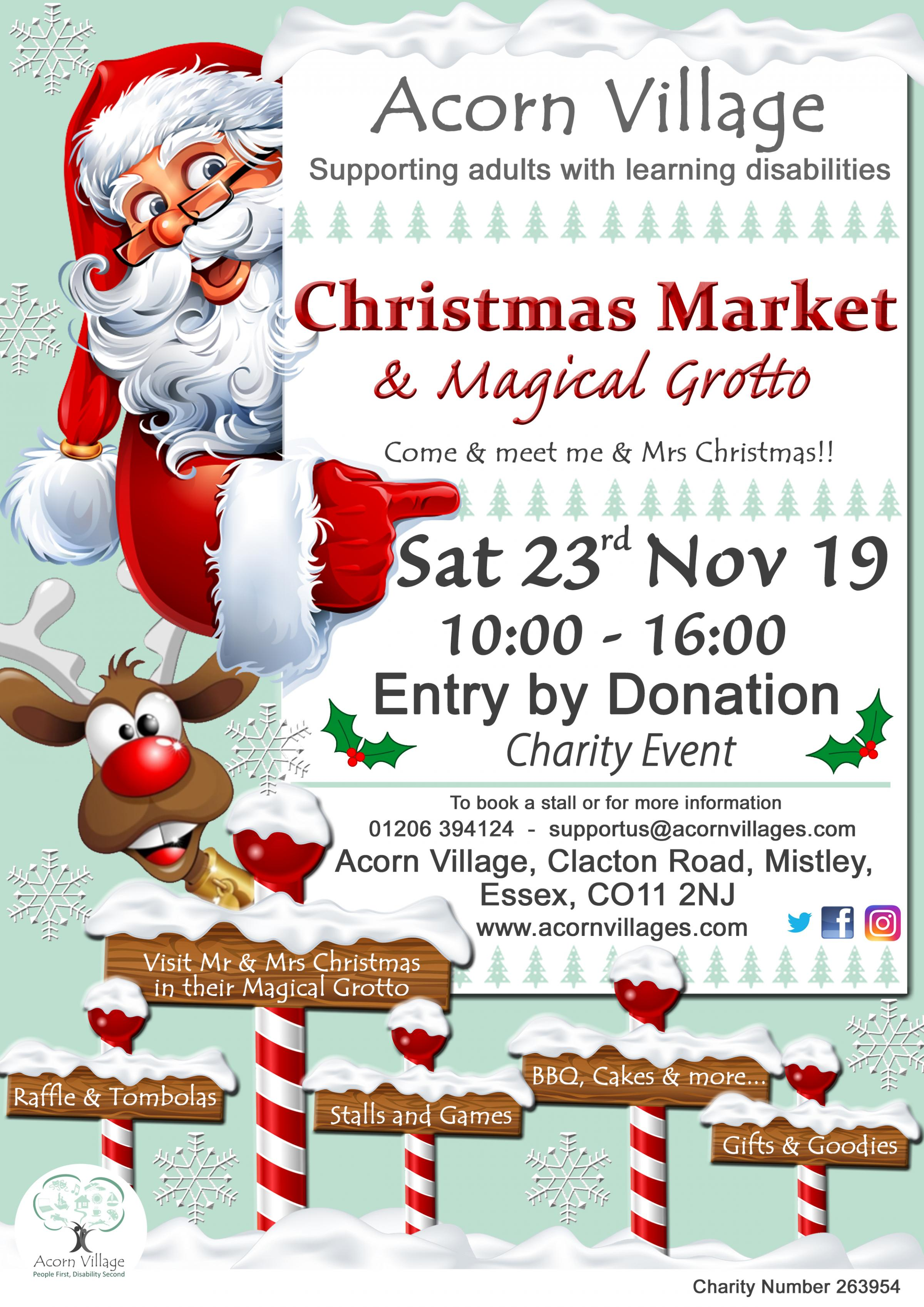 Charity Christmas Market & Magical Grotto