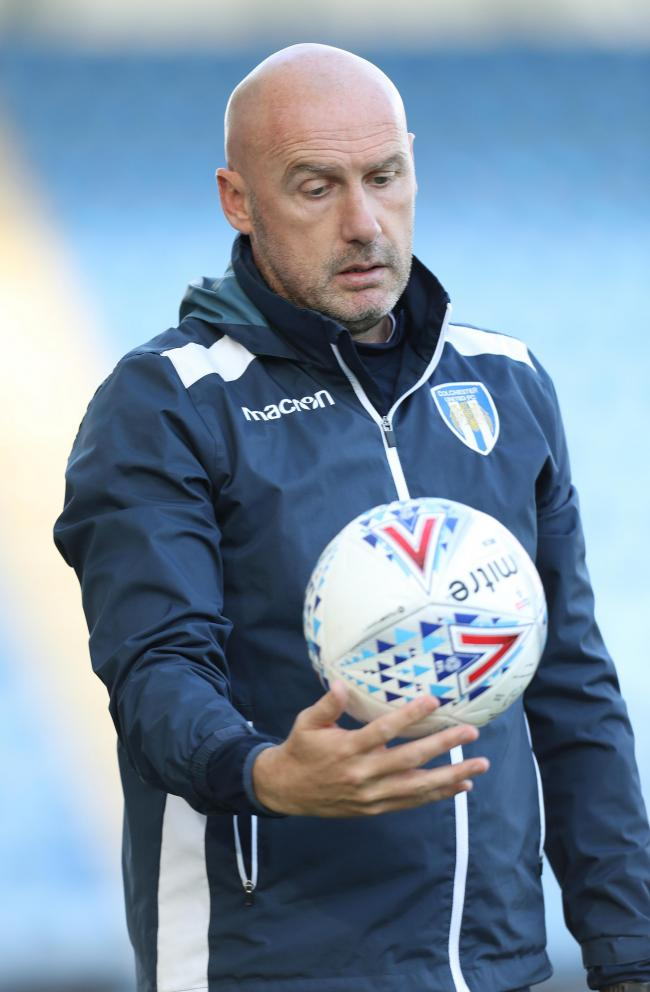 Disappointed - Colchester United boss John McGreal Picture: STEVE BRADING