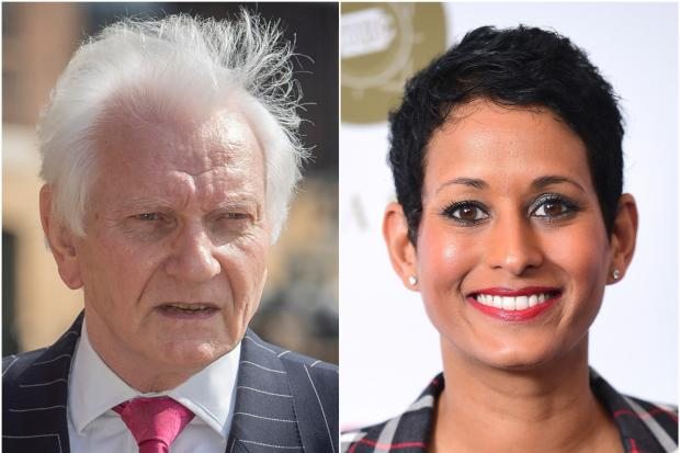 Harvey Proctor and Naga Munchetty