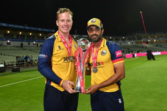 Moving on - Ravi Bopara (right) is leaving Essex
