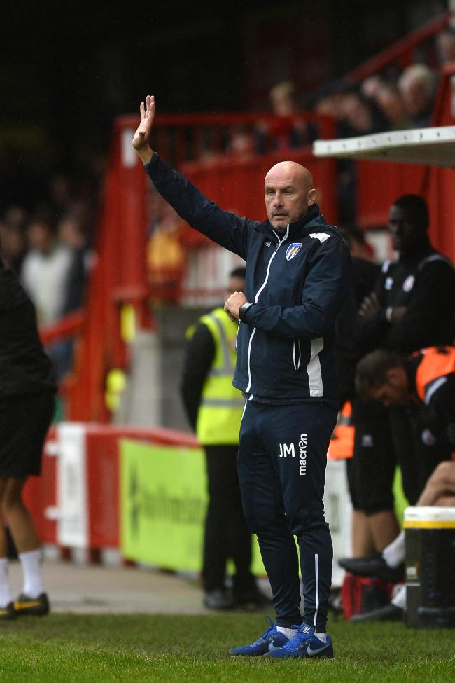 In charge - Colchester United head coach John McGreal is the longest-serving boss in League Two Picture: RICHARD BLAXALL