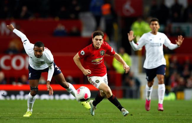 Running man - Daniel James could feature for Manchester United against Colchester United Picture: PA/Martin Rickett