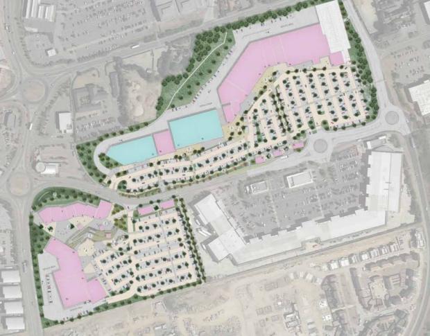 Gazette: The layout plans for Tollgate Village