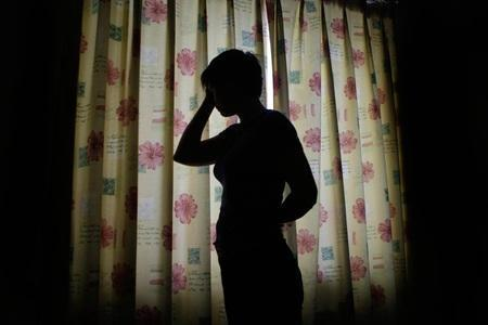 A stock picture of someone in silhouette