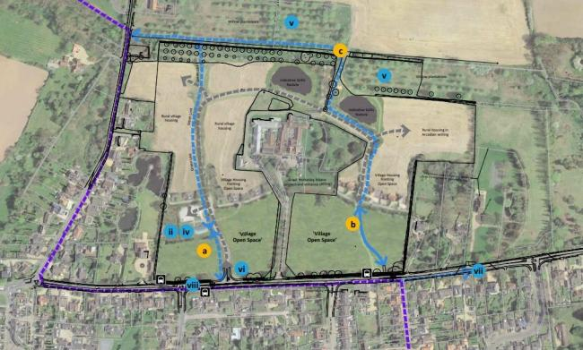 Plans for 80 homes in Great Horkesley