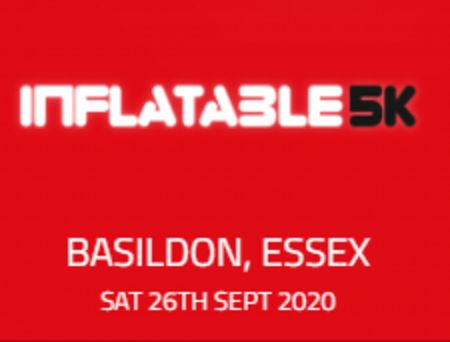 Inflatable 5k Obstacle Course Run - Basildon