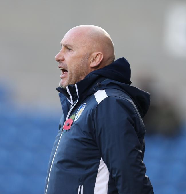 U's boss John McGreal watches on during Saturday's FA Cup defeat against Coventry City. Picture: Steve Brading