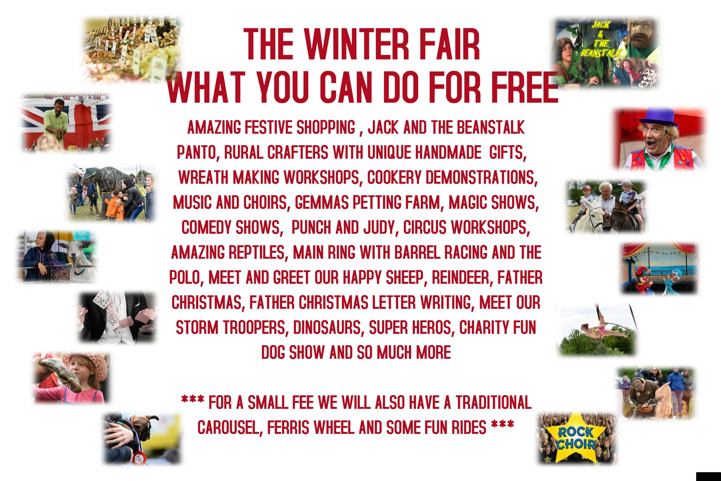 The East Anglian Winter Fair.