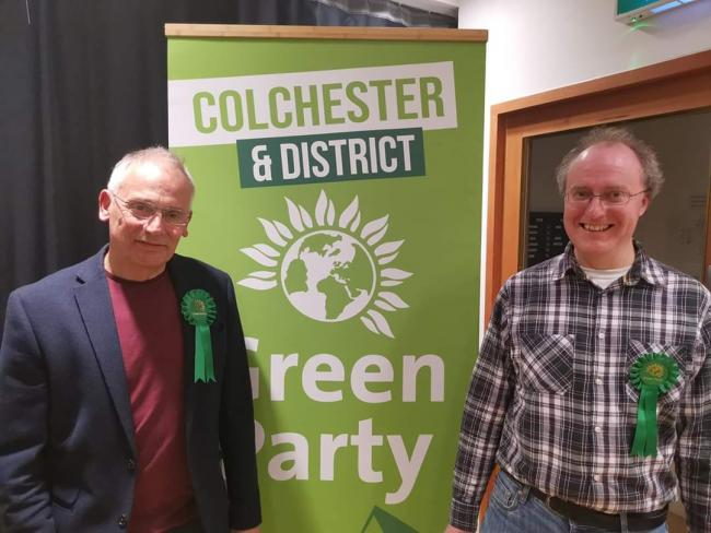 Candidates - Peter Banks and Mark Goacher