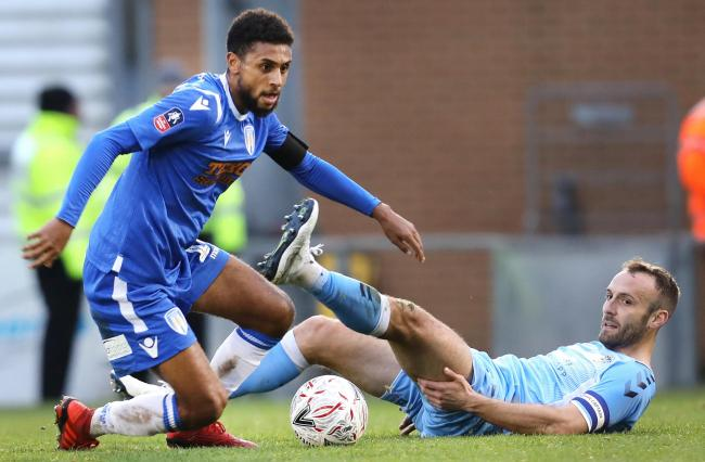 Call-up - Colchester United midfielder Brandon Comley is away on international duty Picture: STEVE BRADING