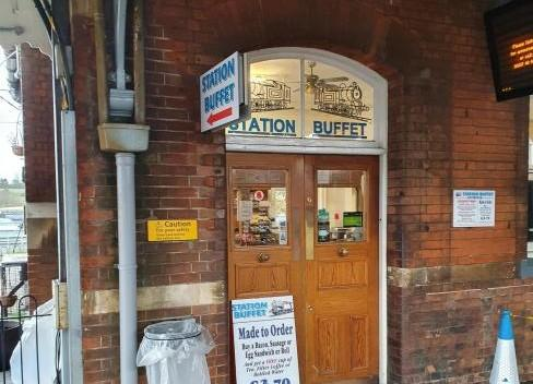 Pub - Manningtree Station Buffet has been open for 20 years