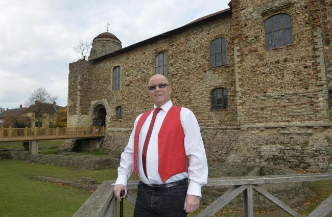 Peter Greening, of Outhouse East, at Colchester Castle